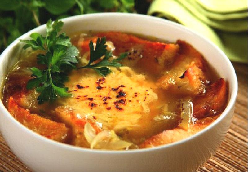 рецепты лукового супа